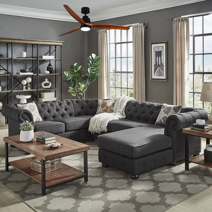 Hướng dẫn lựa chọn quạt trần phù hợp với không gian nhà bạn