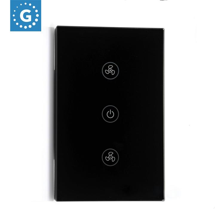 Công tắc cảm ứng thông minh US Quạt và đèn GS FL01