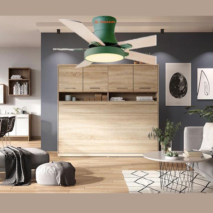 Quạt trần cánh gỗ Gigasun Arcot A002 giá rẻ